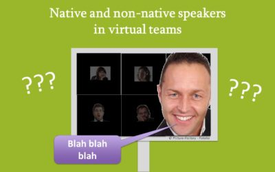 Video blog: Native and non-native speakers in virtual teams