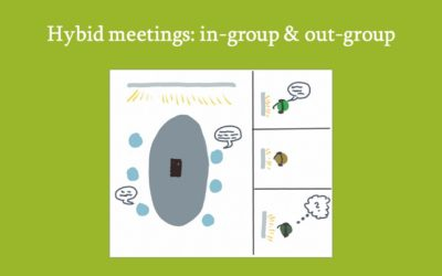 Video blog: Virtual team members just dialing in